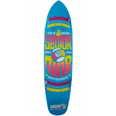 Sector 9 The Wedge Longboard Deck - Blue