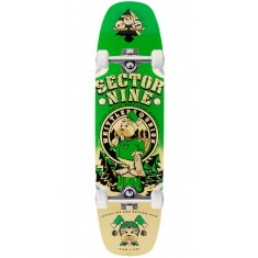 Sector 9 Woodshed Longboard Complete - Green