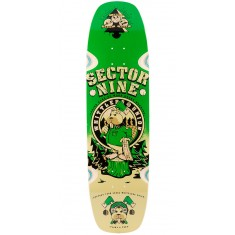 Sector 9 Woodshed Longboard Deck 2016 - Green - Blem