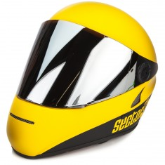 Sector 9 The Drift Downhill Division Helmet - Yellow