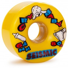 Seismic Cry Baby Longboard Wheels 64mm