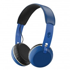 Skullcandy Grind Wireless Headphones - Royal/Cream/Blue