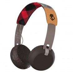 Skullcandy Grind Wireless Headphones - Tan/Camo/Brown