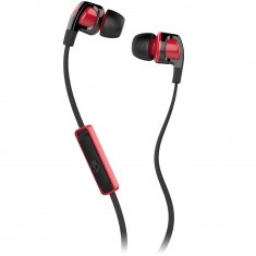 Skullcandy Smokin Buds 2 Mic1 Headphones - Black / Red / Red