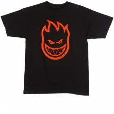 Spitfire Bighead T-Shirt - Black/Red