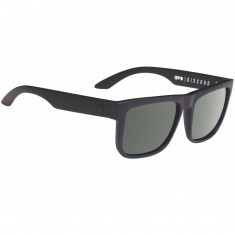 Spy Discord Sunglasses - Soft Matte Black-Happy Gray Green