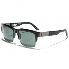Spy Malcolm Sunglasses - Black/Happy Grey Green