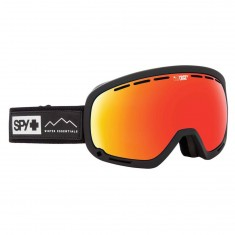 Spy Marshall Snowboard Goggles - Essential Black/ Happy Gray Green with Red Spectra