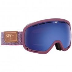 Spy Marshall Snowboard Goggles - Hunter Red/ Happy Rose with Dark Blue Spectra