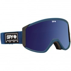 Spy Raider Snowboard Goggles - Deep Winter Navy/Happy Bronze with Silver Spectra/Yellow