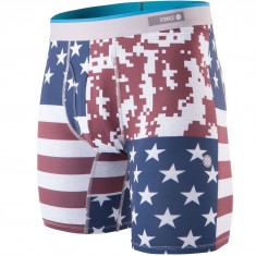 Stance Digi Camo Flag Underwear - Red