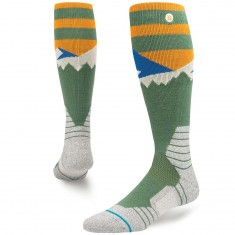 Stance Long Way Snowboard Socks - Green