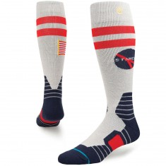 Stance Mission Control Snowboard Socks - Grey