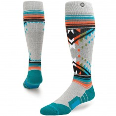 Stance Whitmore Snowboard Socks - Grey Heather