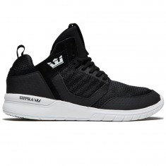 Supra Method Shoes - Black/White/White
