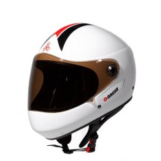 Triple Eight Racer Helmet - White