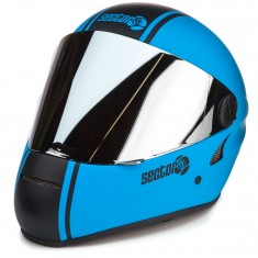 Sector 9 The Channel Downhill Division Helmet - Blue