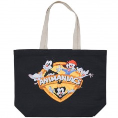 The Hundreds X Animaniacs Shield Tote Bag - Black