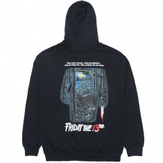 The Hundreds X Friday The 13th Doomed Hoodie - Black