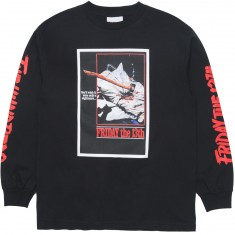 The Hundreds X Friday The 13th Scream Long Sleeve T-Shirt - Black