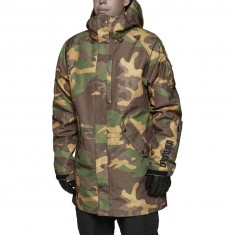 Thirty Two Deep Creek Snowboard Jacket - Camo