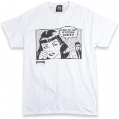 Thrasher Boyfriend T-Shirt - White