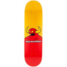 Toy Machine Monster Skateboard Deck - X-Large - Yellow Stain - 8.50""