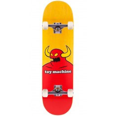 """Toy Machine Monster Skateboard Complete - X-Large - Yellow Stain - 8.50"""""""