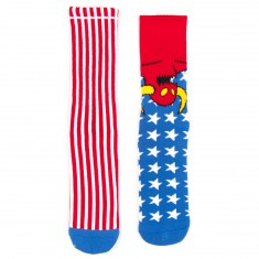 Toy Machine Skateboards American Monster Socks - USA