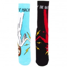 Toy Machine Skateboards Bury The Hatchet Socks - Multi