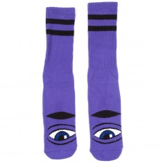 Toy Machine Skateboards Sect Eye Sock III Socks - Purple