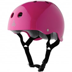 Triple Eight Brainsaver Skateboard Helmet - Hot Pink