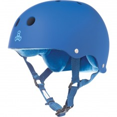 Triple Eight Brainsaver Skateboard Helmet - Royal Rubber