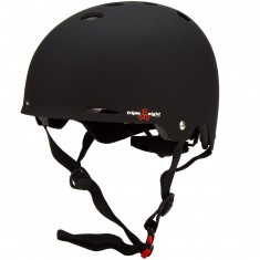 Triple Eight Gotham Dual Certified with MIPS Skateboard Helmet - Black