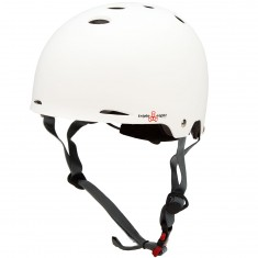 Triple Eight Gotham Dual Certified with MIPS Skateboard Helmet - White