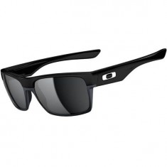 Oakley TwoFace Sunglasses - Polished Black/Black Iridium