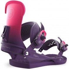 Union Milan Womens Snowboard Bindings 2018 - Plum