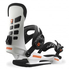 Union STR Snowboard Bindings 2018 - White