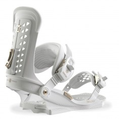 Union Trilogy Womens Snowboard Bindings 2018 - White