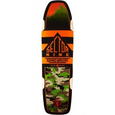 "Sector 9 Ninety Five Longboard Deck - 30.5"" - Red"