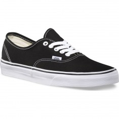 Vans Original Authentic Shoes - Black