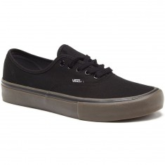 Vans Authentic Pro Shoes - Canvas Black/Gum