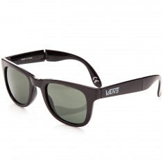 Vans Foldable Spicoli Shades Sunglasses - Black Gloss