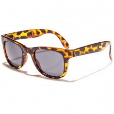 Vans Foldable Spicoli Shades Sunglasses - Translucent Honey Tortoise
