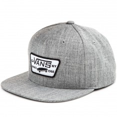 Vans Full Patch Snapback Hat - Heather Grey