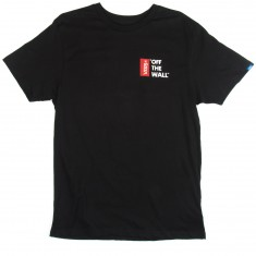 Vans Off The Wall III T-Shirt - Black