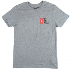 Vans Off The Wall III T-Shirt - Heather Grey
