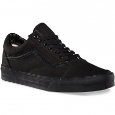 Vans Old Skool Core Classic Shoes - Black/Black