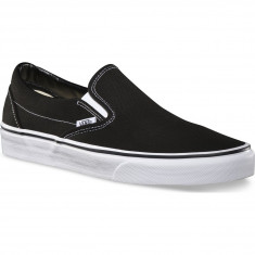 Vans Classic Slip-On Shoes - Black