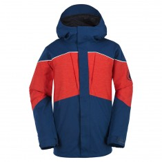 Volcom Anders TDS Snowboard Jacket - Blue/Black